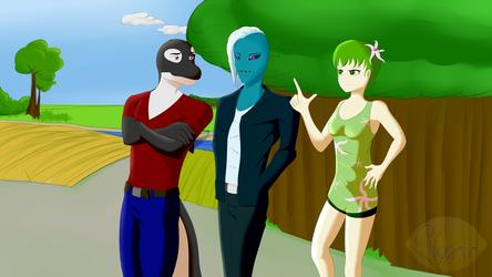 FM - opening theme art