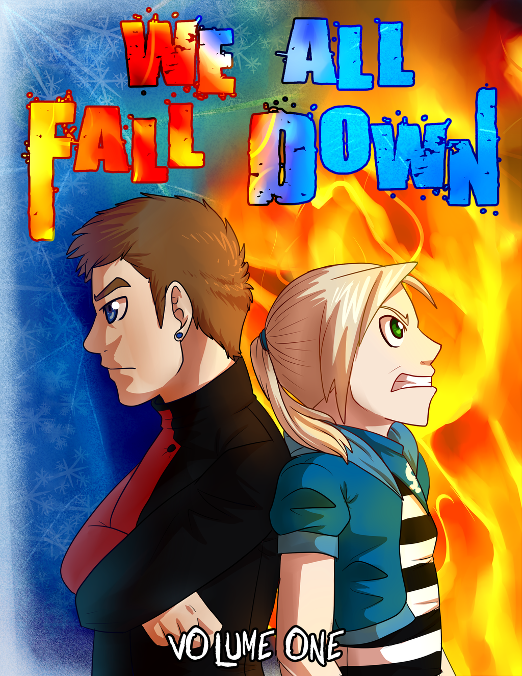 We All Fall Down Volume 1 Cover