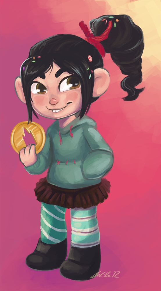 Featured image: Vanellope