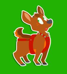 reaux, the tiniest reindeer!