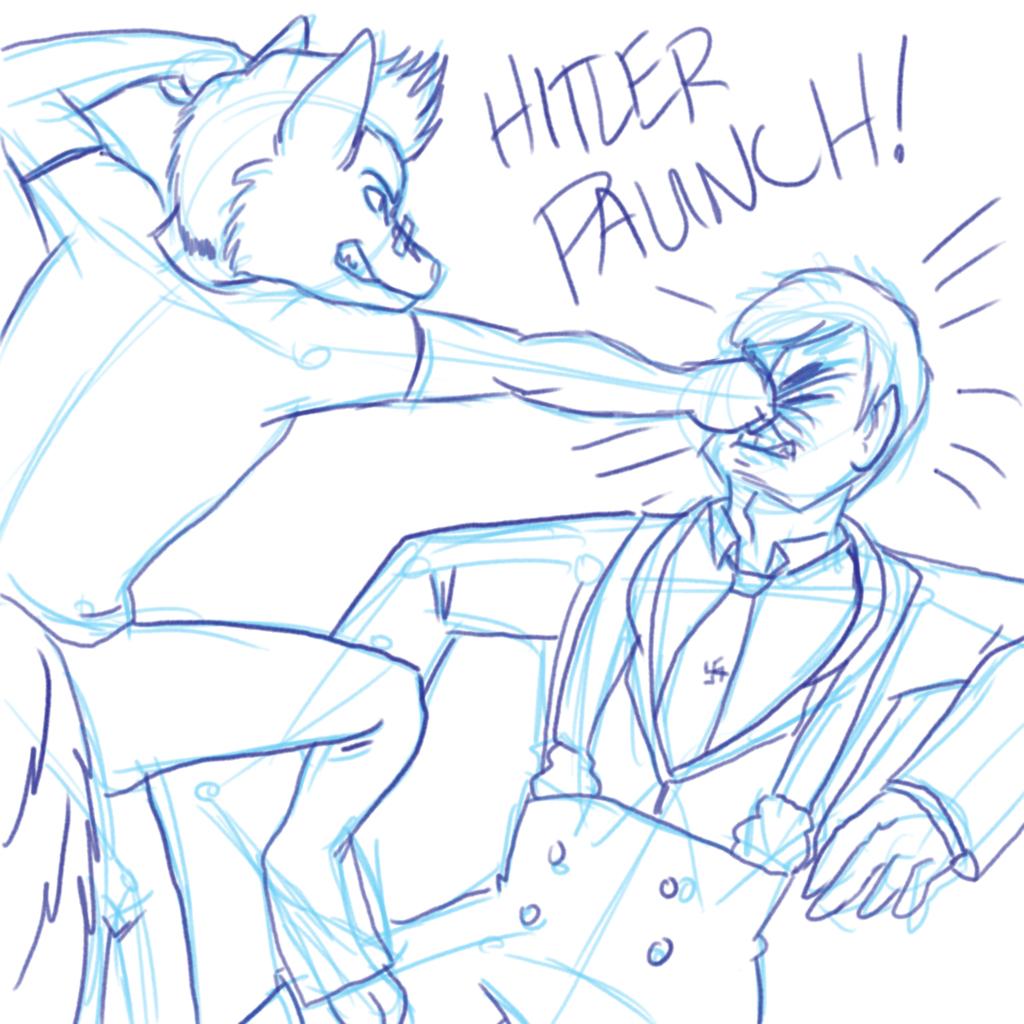 Hitler Paunch!