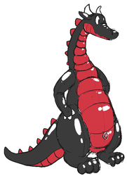 Inflateable Dragon