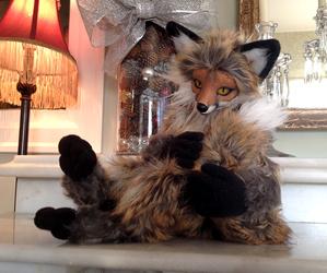 Red Fox OOAK Art Doll 2
