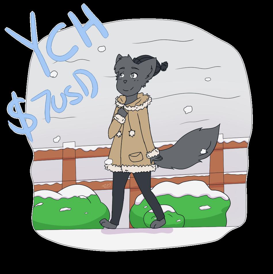 [OPEN] $7 USD YCH - Winter Walk