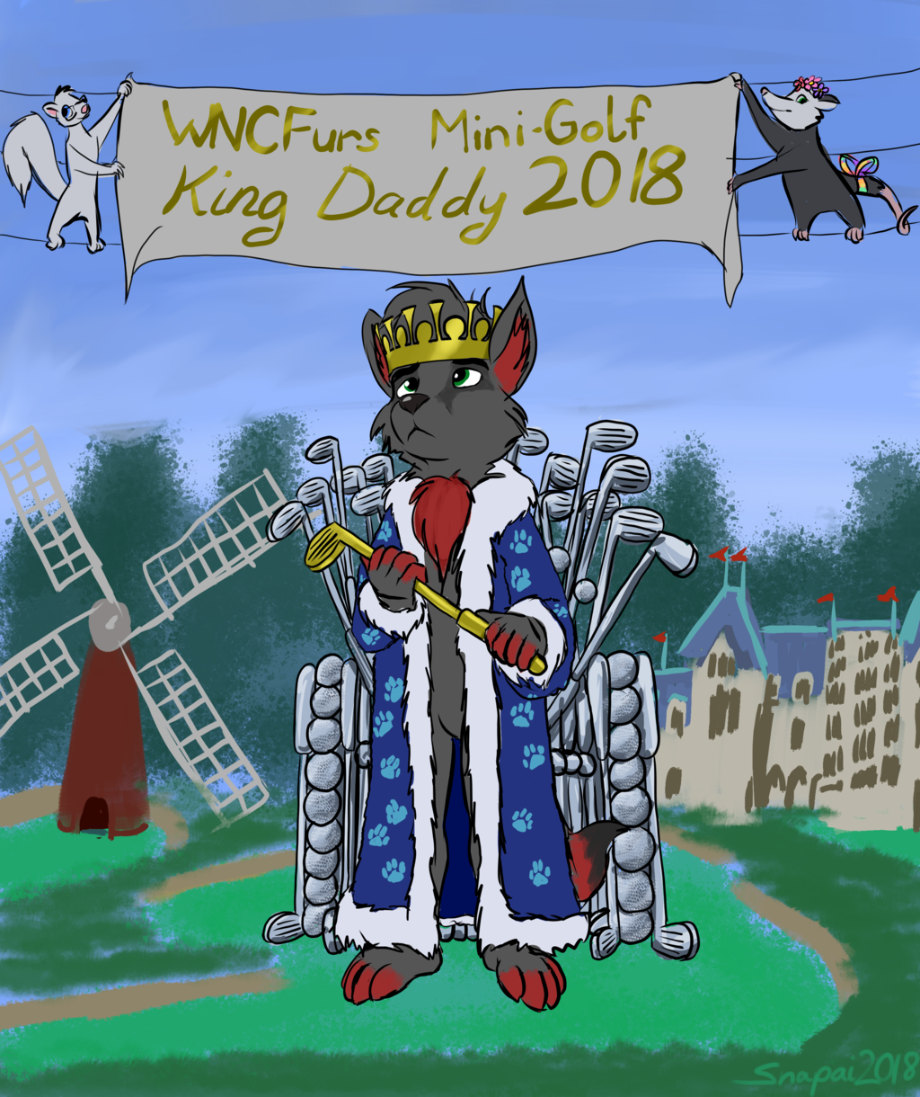 Most recent image: WNCFurs Mini Golf King Daddy 2018