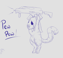 PEWPEW I Save you!