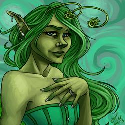 I am the green fairy