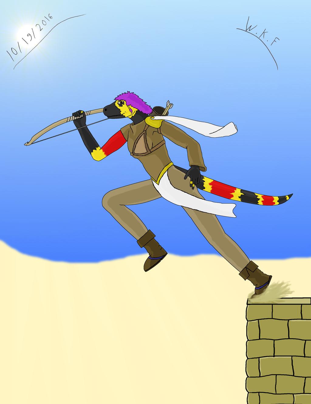 Noemi, The South Desert Assassin