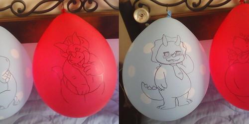 Drye, Tricek, Triken, Homer Balloons