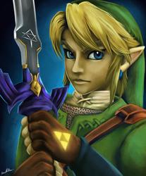 Twilight Princess Link - Portrait