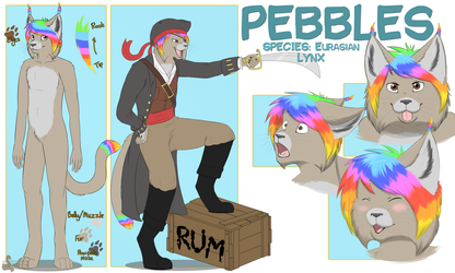 Pebbles the Lynx ref