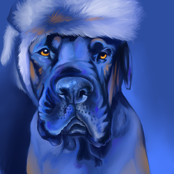 Linus In Blue - Finished