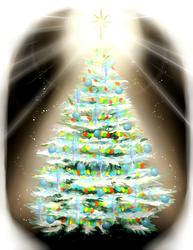 Grandma's most sparkliest tree