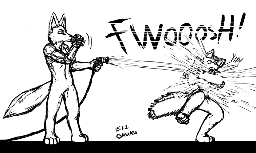 FreeB] Water weapon!