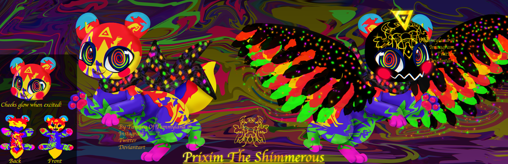 (OPEN) OFFER TO ADOPT: Prixim The Shimmerous