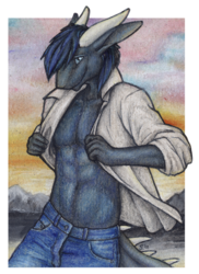 ACEO commission: Lunescale