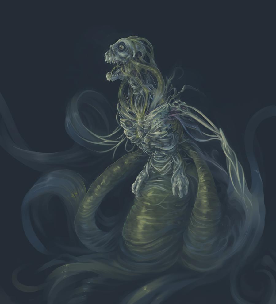 Water creature concept