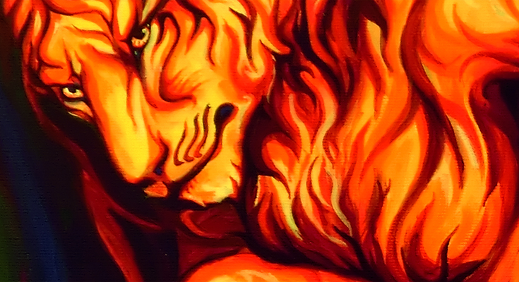 Burning Desire - detail