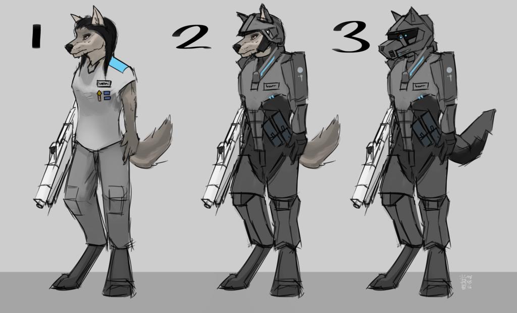 Terran soldier concept