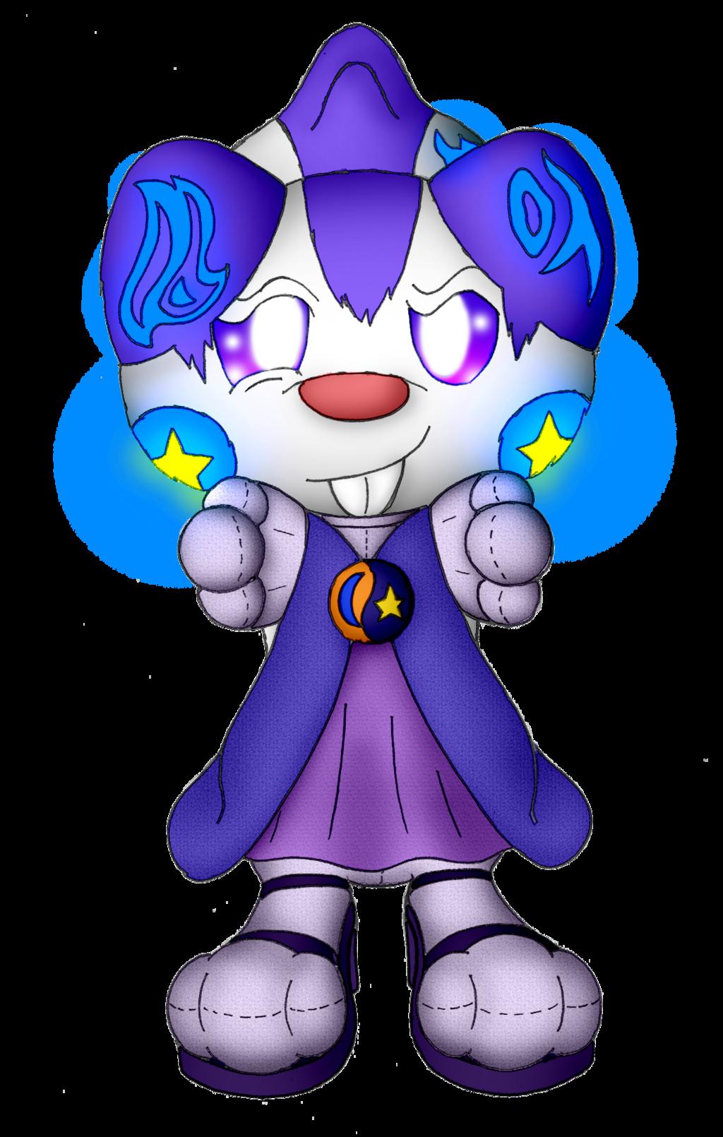 Aeaea the Pachirisu Sorceress (Commission)