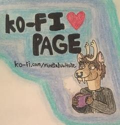 Pierce's KoFi Page