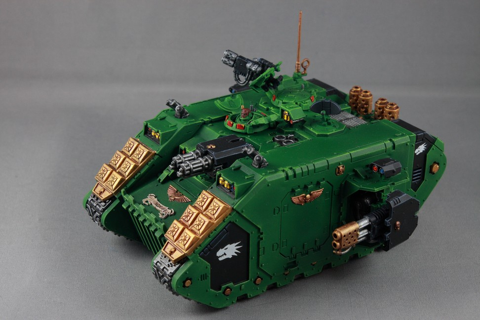 Salamander Land Raider