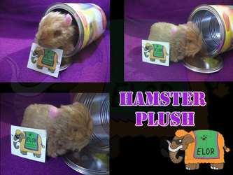 Hamster Plush - Fully handmade