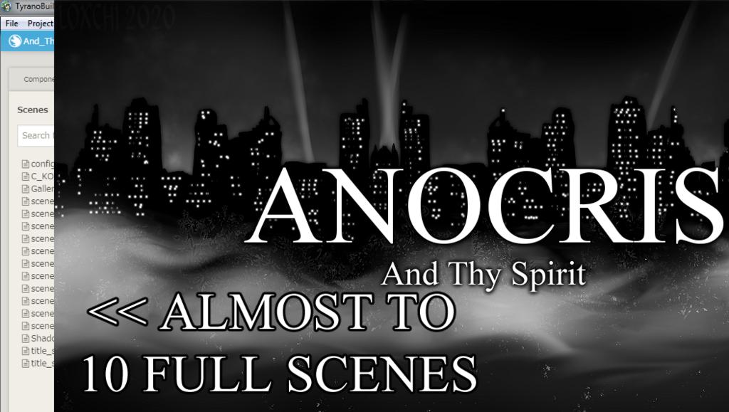 ANOCRIS - And Thy Spirit (Visual Novel WIP) Update