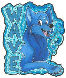 Wave Badge (MFF 2014)
