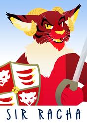 Sir Racha Badge (Fursuit + Character FOR SALE)