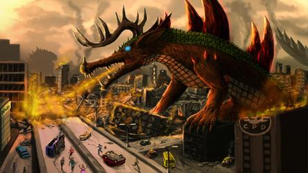 Static destroy the city