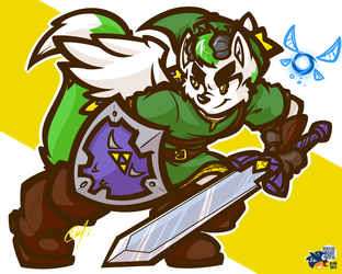 [CHUMMISSION] - THE FURRY IN GREEN