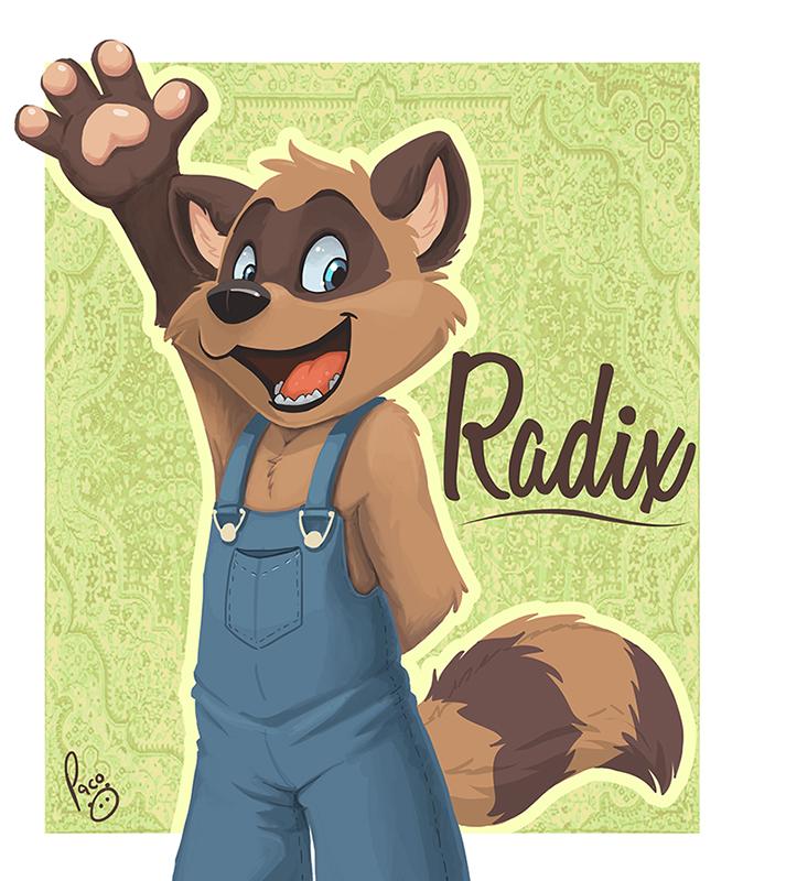 MFF badge: Radix
