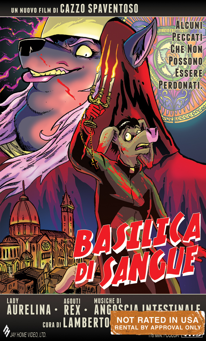VHS Commission: BASILICA DI SANGUE