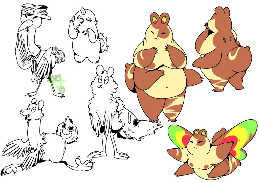 Doodles and Bugbun