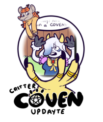 Critter Coven Page 13 On Tapastic!!