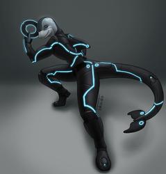 Derezzed Dolphin