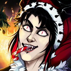 Deck the halls with fire [personal/icon]