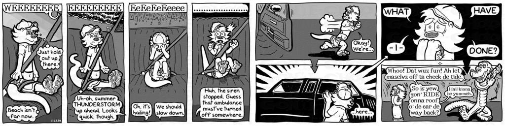 Gon' E-Choo! Strip 116 (www.gonechoo.com)