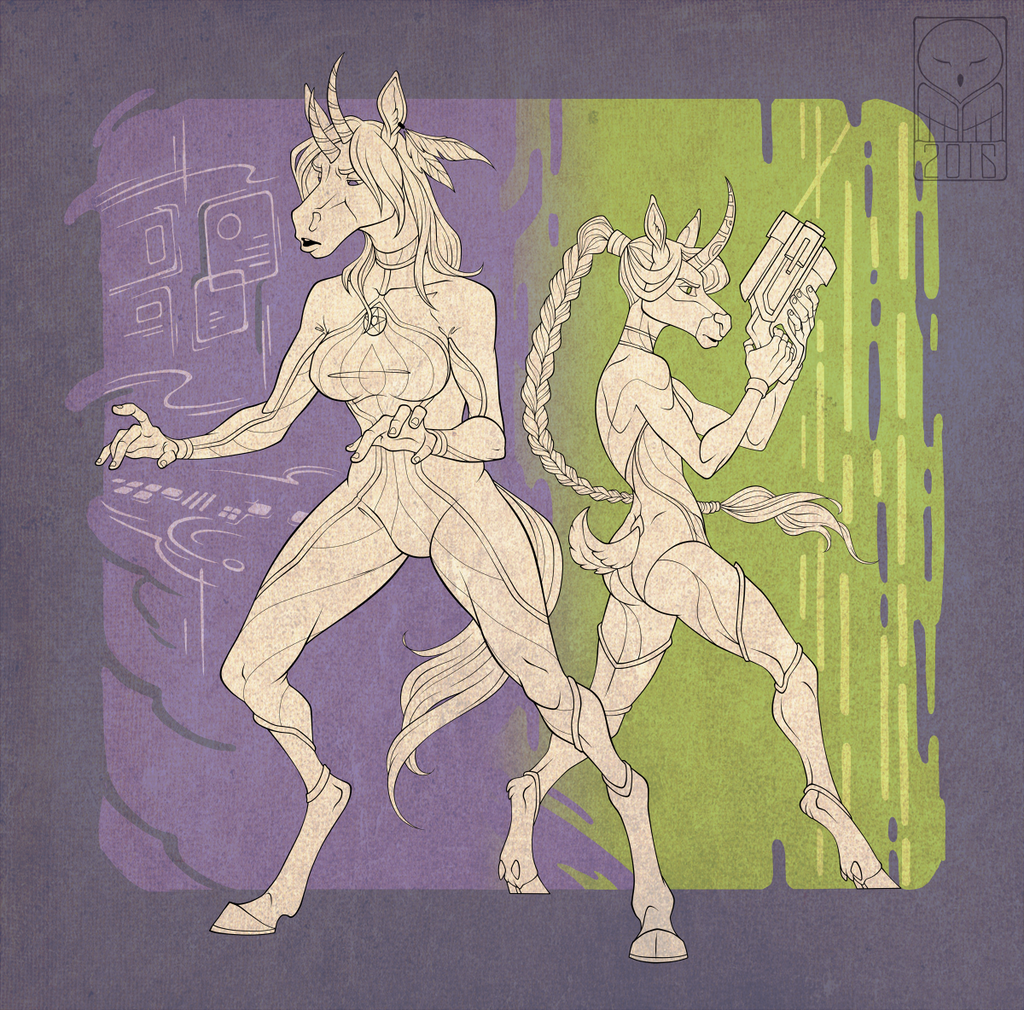 Iron Artist CO: Adeloo and FemtoAmpere