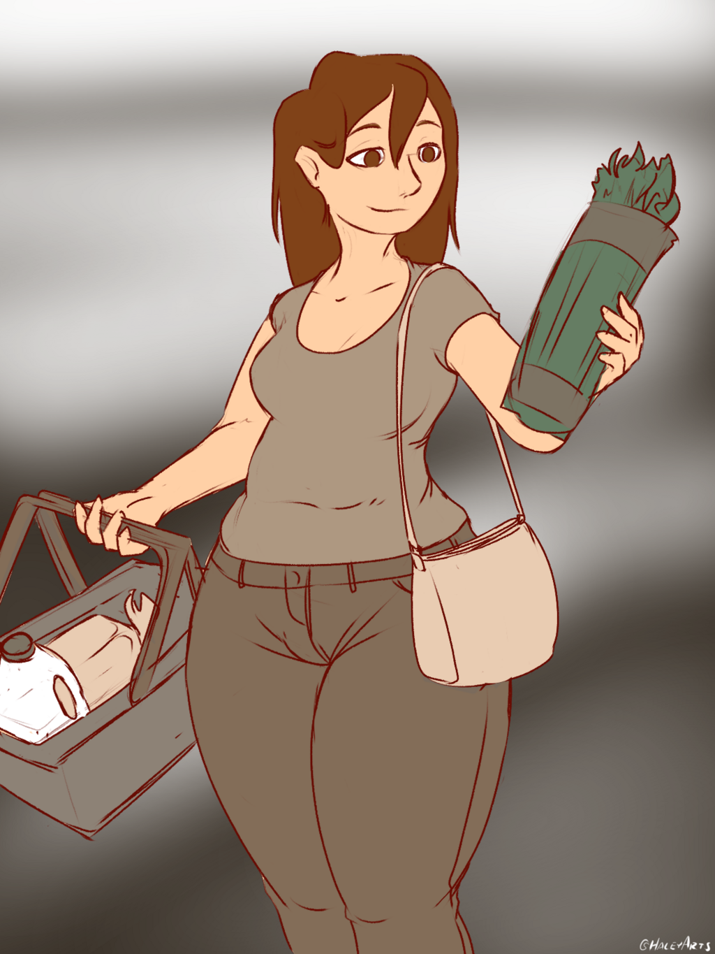 Connie Goes Shopping