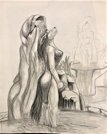 Most recent image: Girl in the fountain