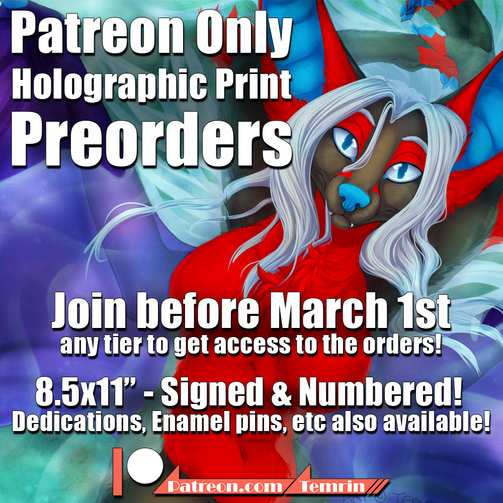 Holographic Print Preorders