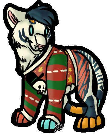 Chibi - YCH Ugly Sweater - Inara