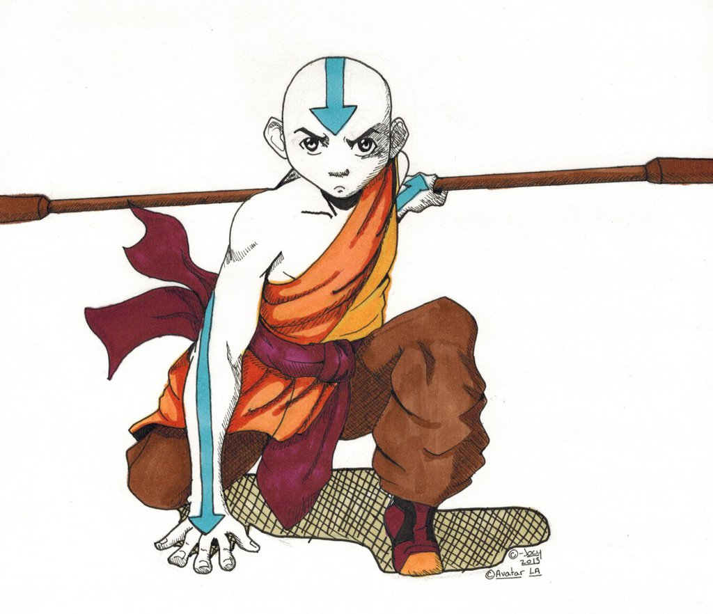 Aang- Traditional