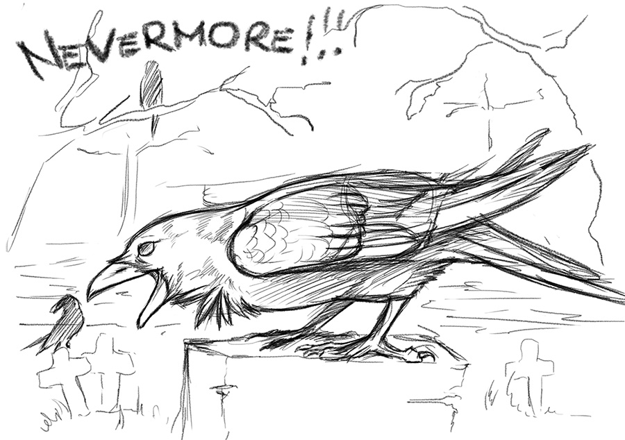 ..:: Nevermore ::.. sketch