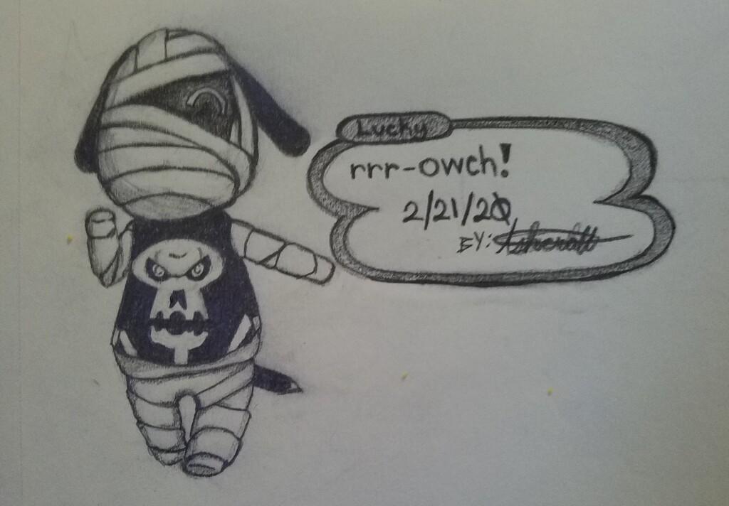 Lucky [Animal Crossing Fan Art]