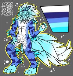 Male Ice Arcanine +Design+ (SOLD)