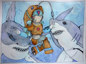 Rime and the sharks ...