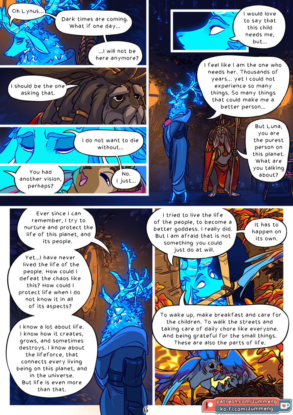 Tree of Life - Book 0 pg. 6.